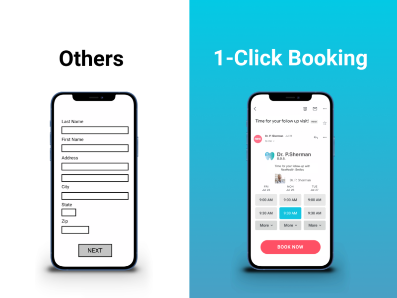 One Click Booking